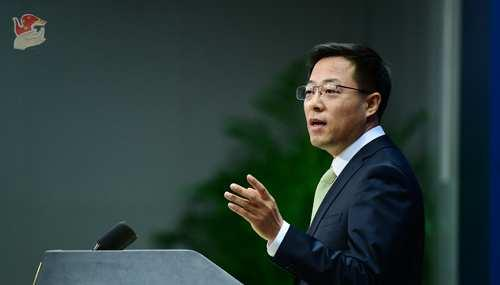 """美将部分中国媒体驻美机构列为""""外国使团"""",赵立坚:中方被迫进行必要对等反制"""