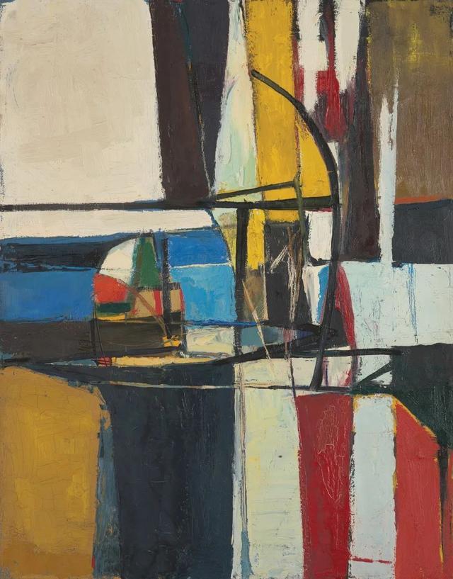 多产的当代抽象表现主义画家|Mario Henrique ...