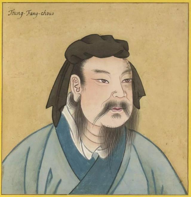 东方朔雕像
