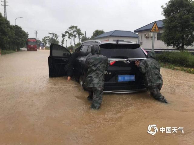 深圳台风照片