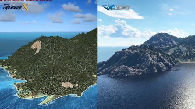 差距过大!2020《微软飞行模拟》vs 2006《微软飞行模拟X》