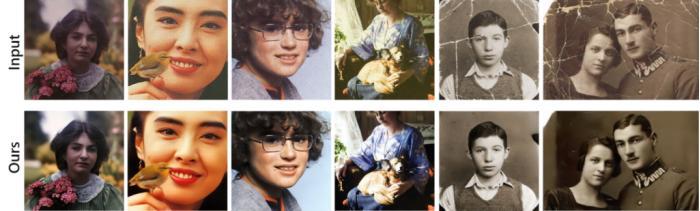 微软开发出一套能恢复严重退化老照片的新算法