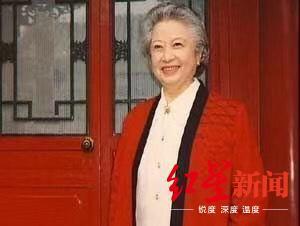 """电影版《红楼梦》""""贾母""""林默予去世,今天是她96岁生日"""
