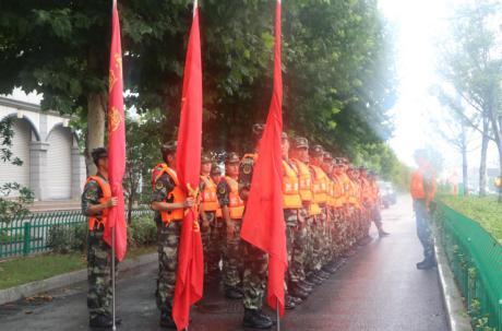 汛情严峻!武警专业救援部队紧急驰援芜湖