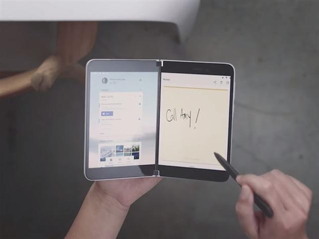 微软Surface Duo:1100万像素+闪光灯