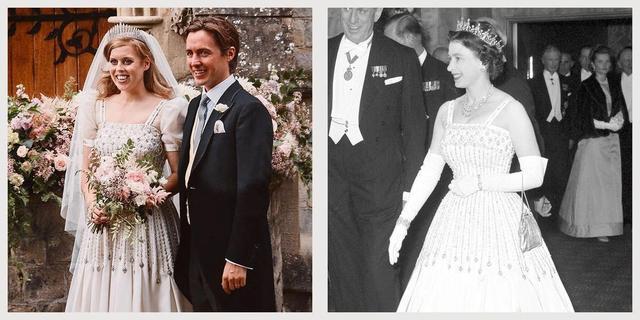 英国王室公主秘密完婚,礼服和王冠都是女王借的?