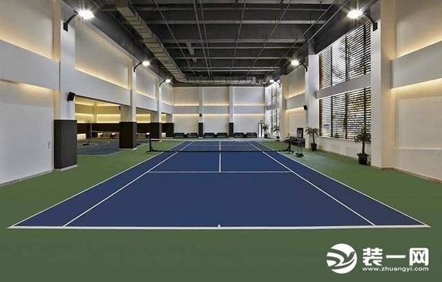 网球场平面图