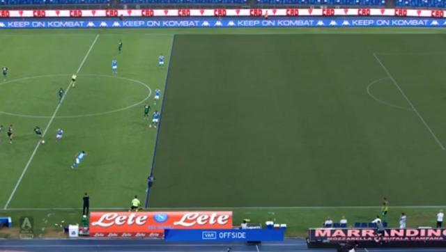 VAR大显神威!那不勒斯2-0萨索洛,客队4球全部被吹