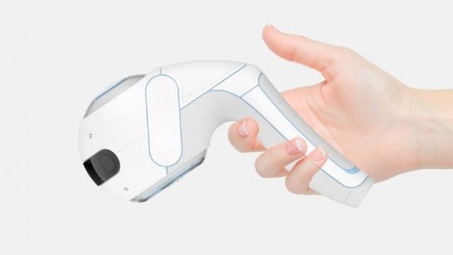 英国大学生设计出适用于盲人的手持式设备,可被当成机器导盲犬