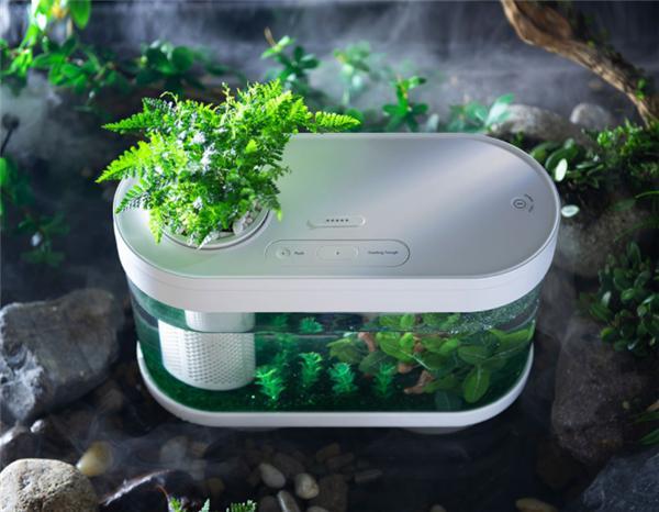 小米有品眾籌智能魚缸Pro:定時定量喂食 支持燈光秀