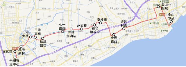 上海地铁线路规划图