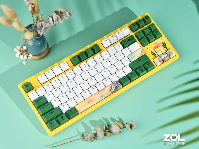 罗技机械键盘布局