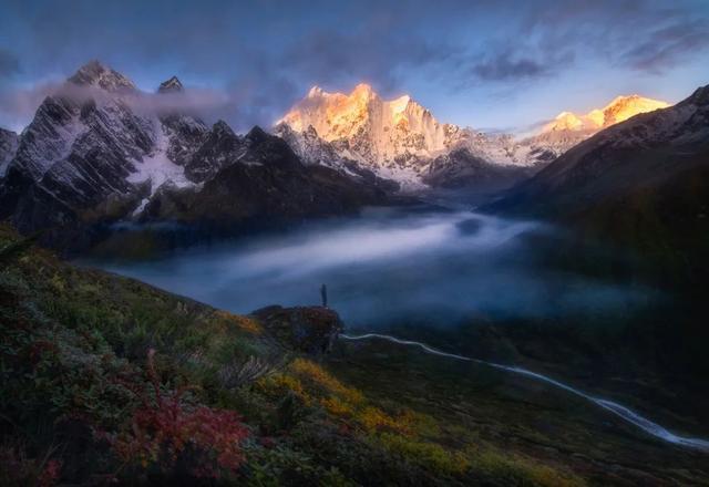 美女西藏旅游照片