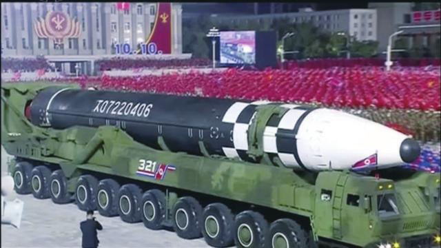 朝鲜导弹排行榜