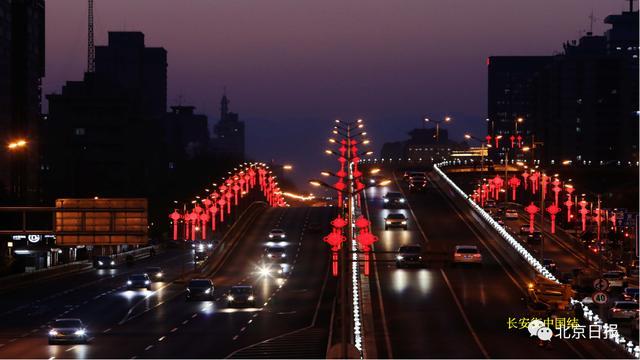 城市夜景灯光唯美图片