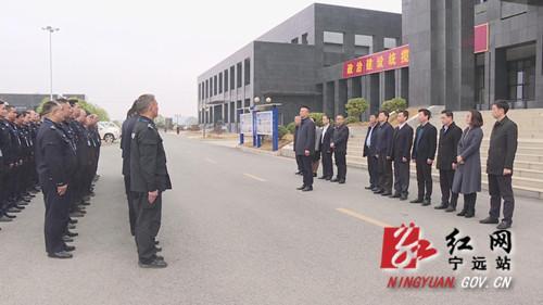 宁远县委书记曹辉正