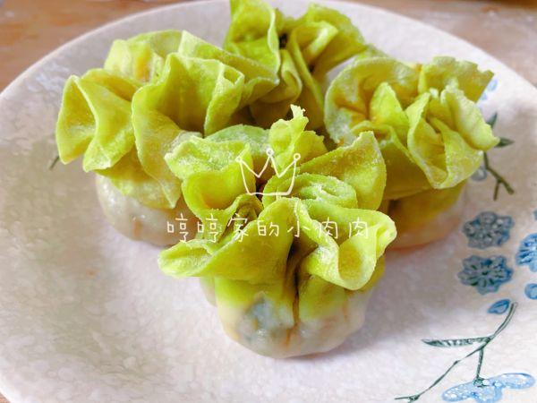 番茄鸡蛋水晶蒸饺图片