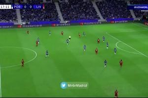 欧冠-萨拉赫&菲尔米诺双响马内破门 利物浦客场5-1波尔图