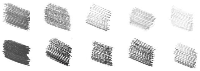 素描很难 画?从握笔到排线,分步骤教你画,学会画素描很简单