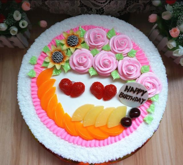 美輪美奐的裝飾生日蛋糕