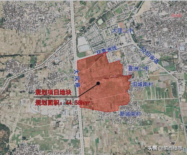 """""""1806""""小镇喜洲地块区位图"""