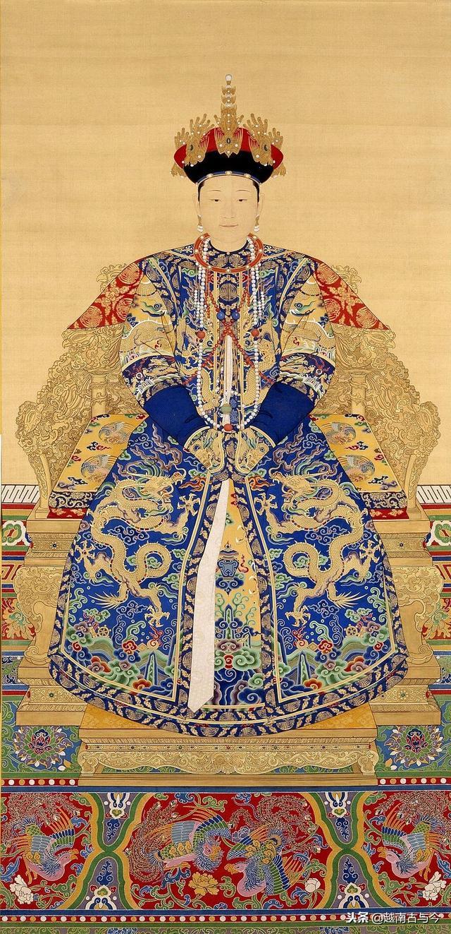 古代皇后图片