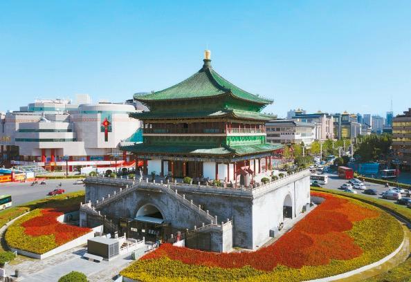 2021年西安钟楼图片