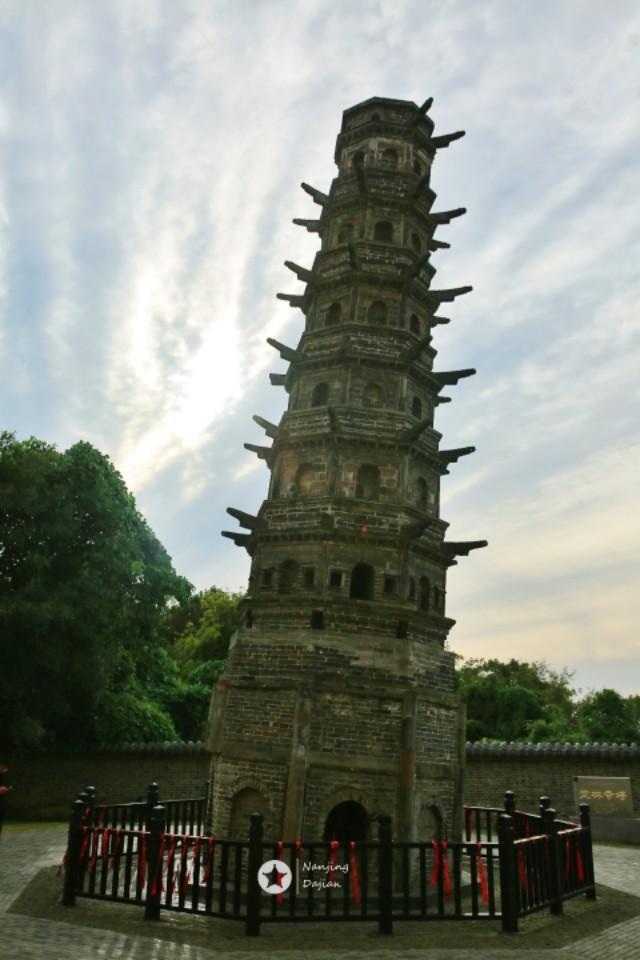 大美中国:航拍世界第一古斜塔——方山斜塔