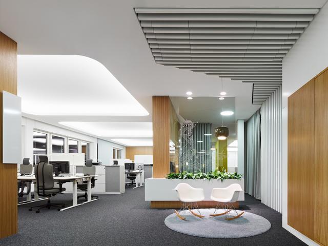 办公室功能区装修设计