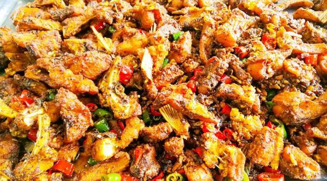 【步骤图】香辣鱼块的做法_香辣鱼块的做法步骤_家常菜_下厨房