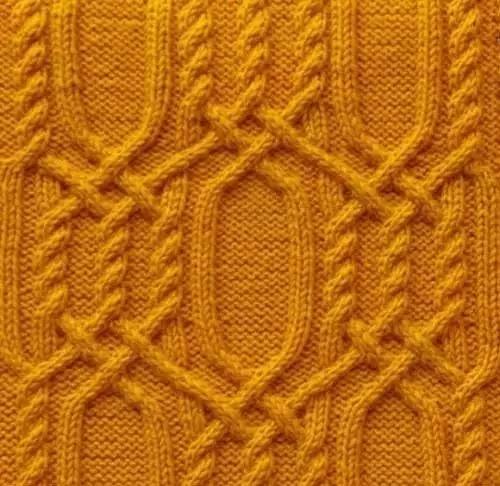 细毛线织毛衣花样图解