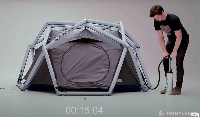 3x4米户外帐篷安装图