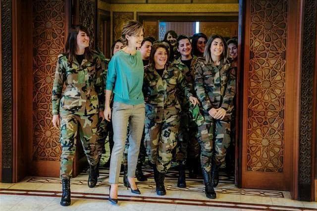 叙利亚总统美女保镖