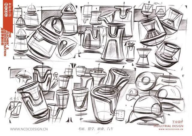 工业设计产品手绘临摹图 - 原创作品 - 站酷(ZCOOL)