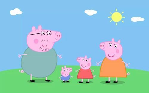 小猪佩奇猪爸爸猪妈妈