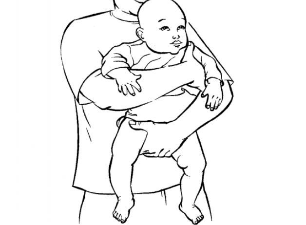 婴儿一哭就抱教你一招
