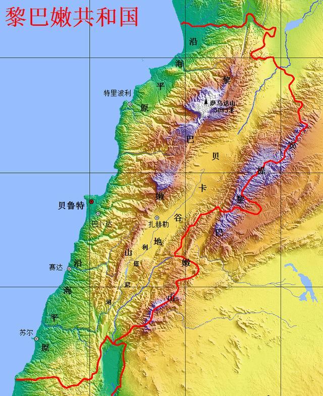 黎巴嫩是个怎样的国家,地中海畔小国—黎巴嫩