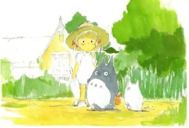 宫崎骏高清插画图片