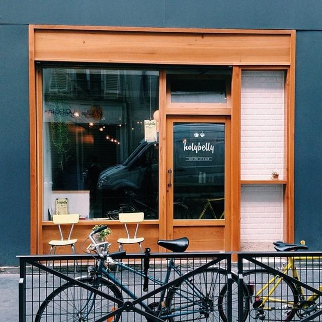 这些小清新的奶茶店门头,有没有一款让你忍不住进门?