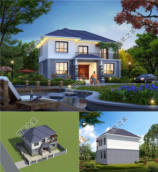 农村房子平面设计图