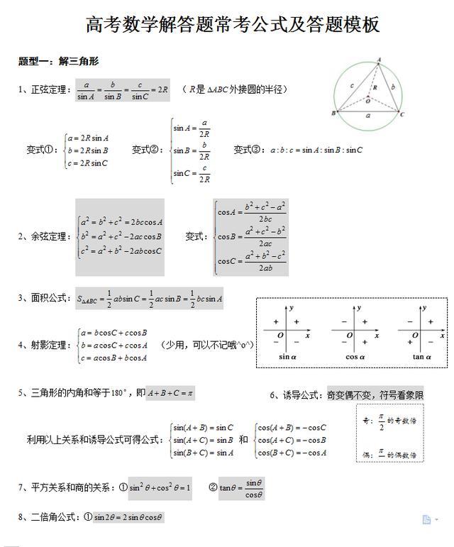 数学答题卡图片模板