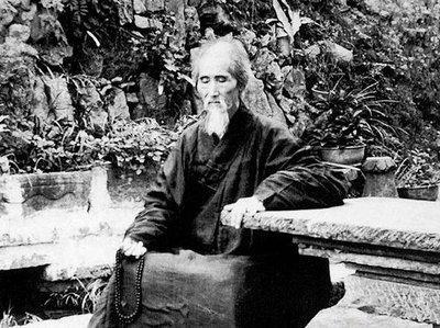 虚云法师120岁照片
