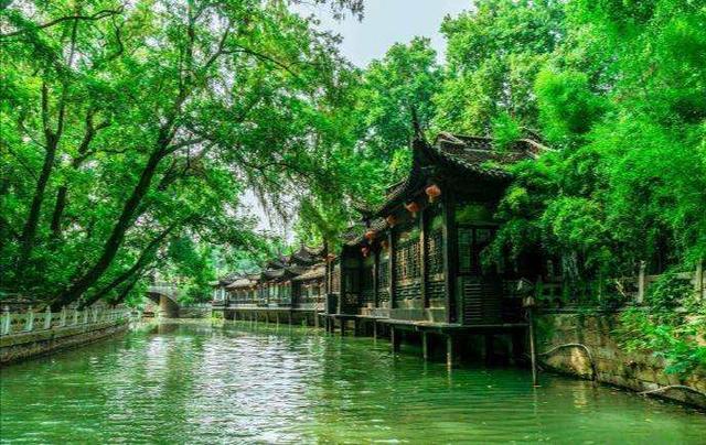 江苏扬州瘦西湖图片