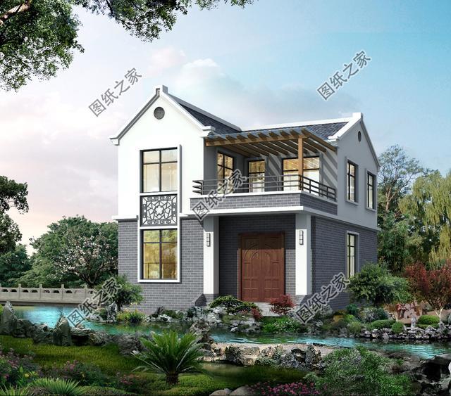 10x4米宅基地设计图