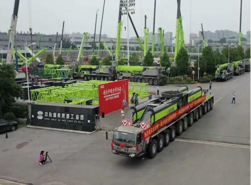 """2000吨吊车落户黄骅市""""海滨吊装"""",这个吊车不简单"""