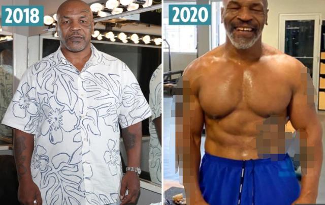 53岁泰森身材改造成功!外媒晒对比照盛赞:令人难以置信