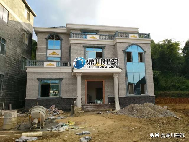 框架结构房子图片