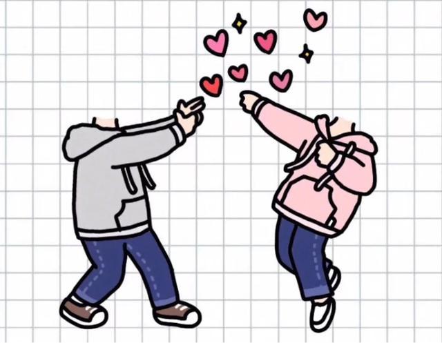 最近特别流行的秀恩爱必备超可爱的情侣壁纸抠图素材分享