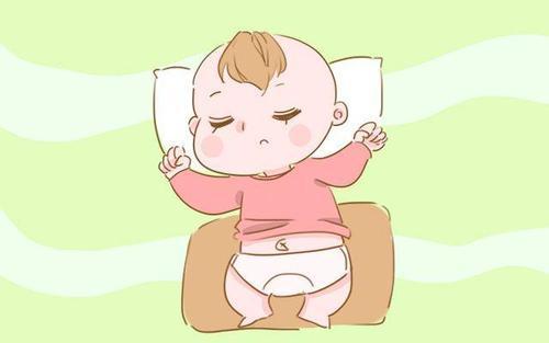 刚出生婴儿正确睡姿图