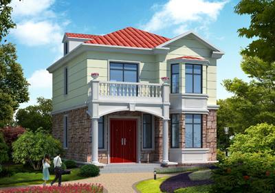 6套2层小面宽农村洋房户型,精致还不贵,35万全弄好